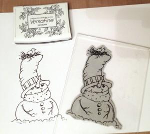 snowman stamp copy